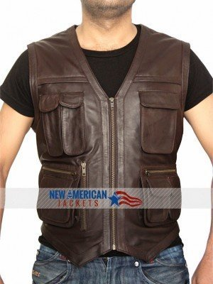 Chris Prat Brown Vest