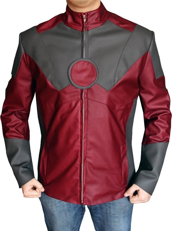 Iron Man Tony Stark Leather Custume Avengers