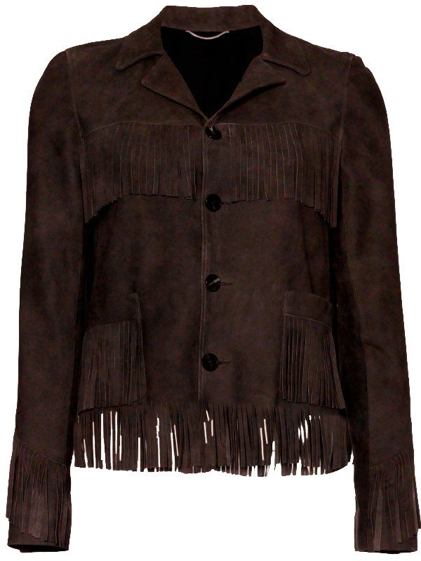 fringe suede leather jacket