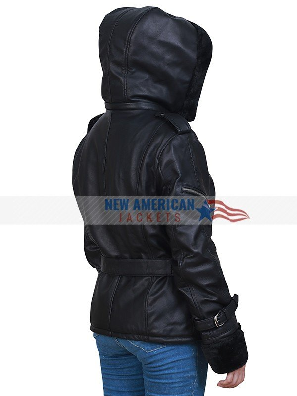 Emma Swan Black Leather Jacket