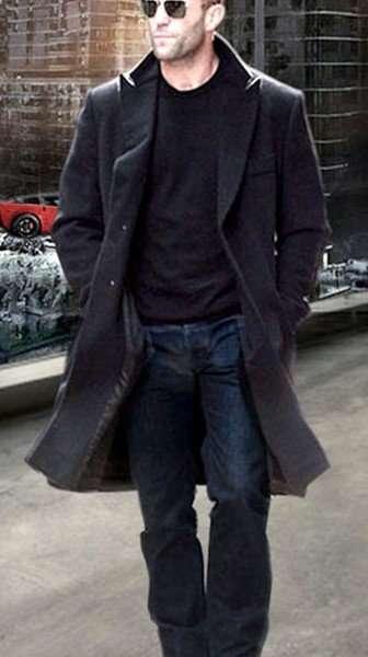 Fast And Furious 7 Jason Statham Coat