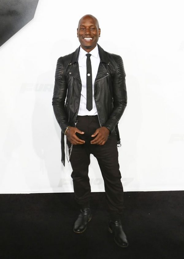 Furious 7 Tyrese Gibson Leather Outfit