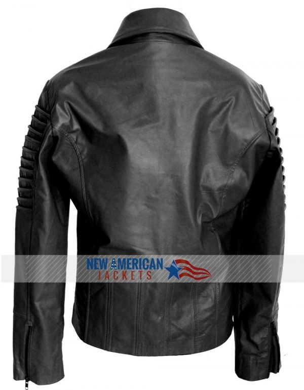 Ladies Women biker leather jacket