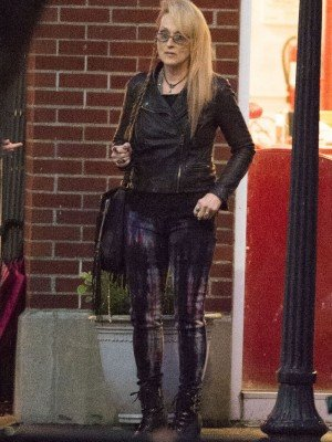 Ricki and the Flash Leather jacket