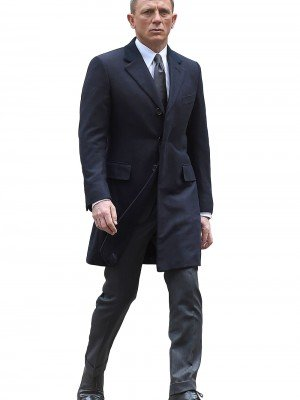 Spectre Navy Blue James Bond Coat