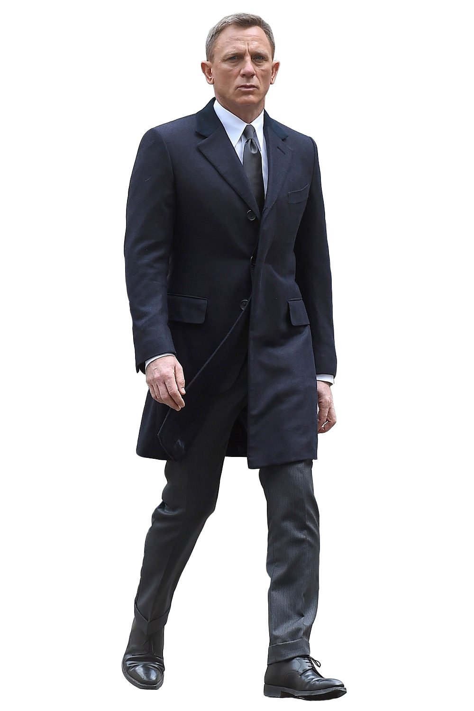 Spectre Navy Blue James Bond Coat
