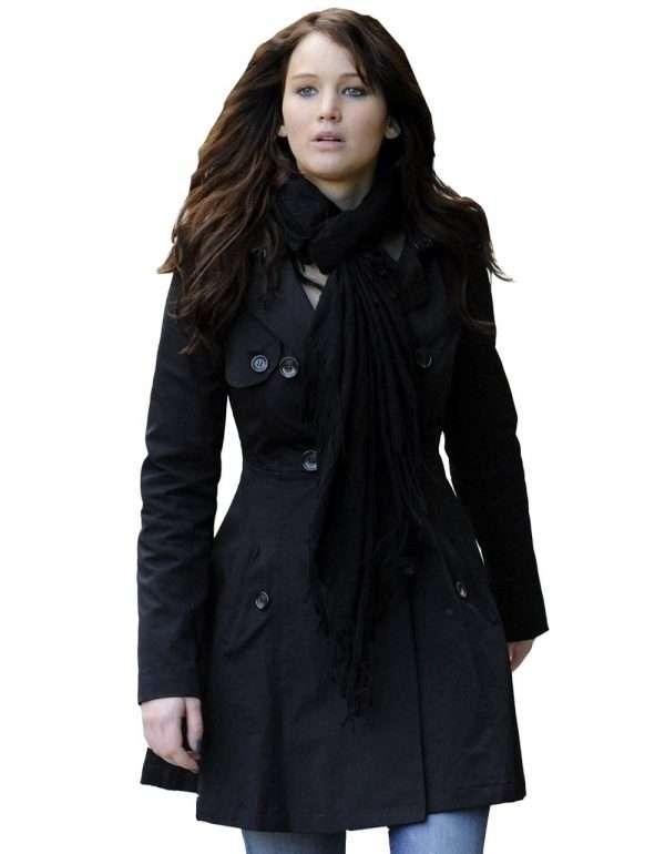 Jennifer Lawrence Tiffany Silver Linings Playbook coat
