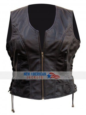 Dead Michonne leather Vest