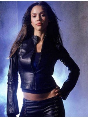 Jessica Alba Dark Angel Leather Jacket