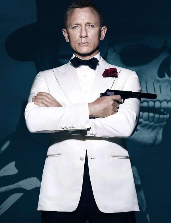 James Bond Spectre Ivory Tuxedo