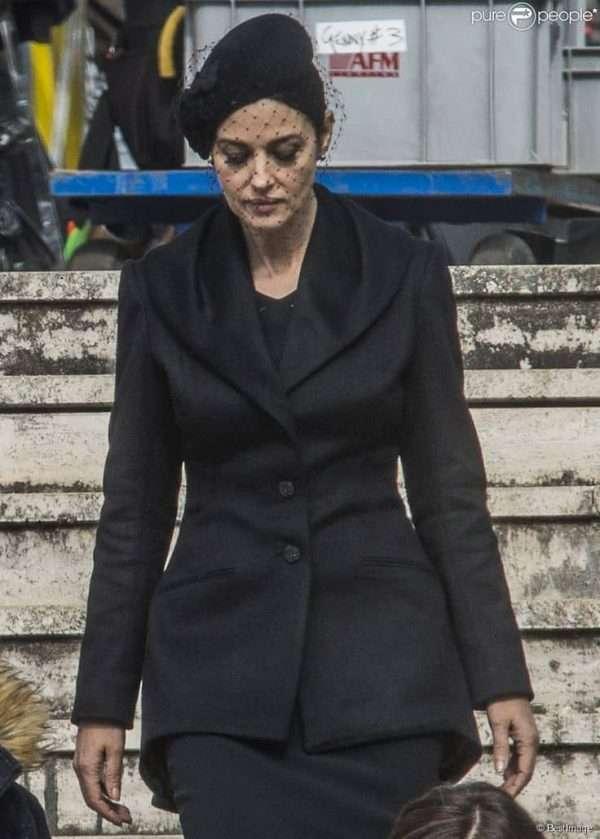Monica Bellucci coat