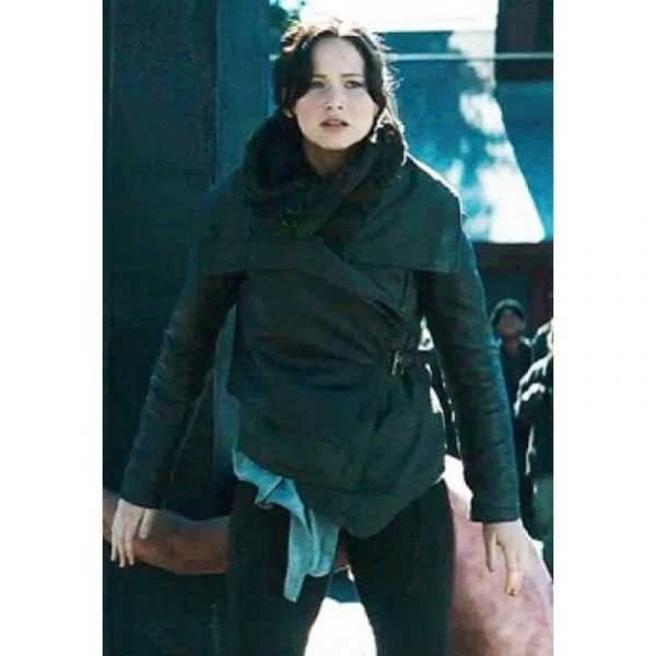 Black The Hunger Games Catching Fire Leather