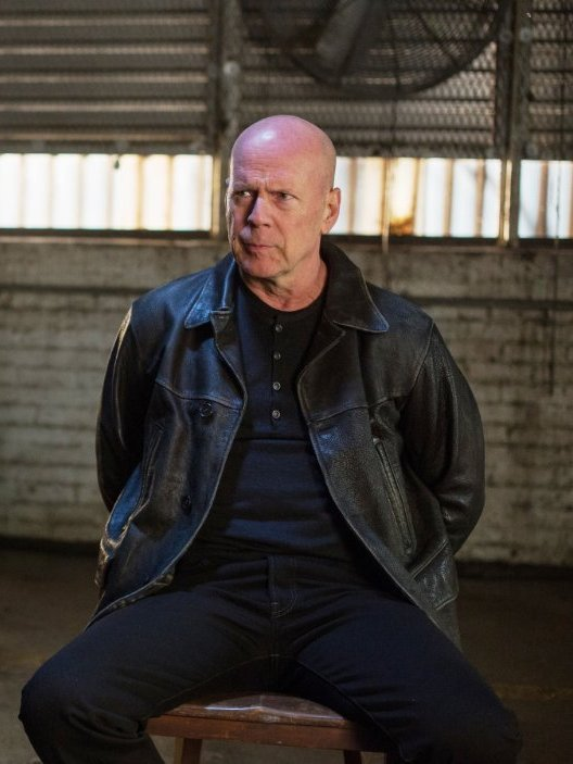 Extraction Red 2 Bruce Willis Black Jacket