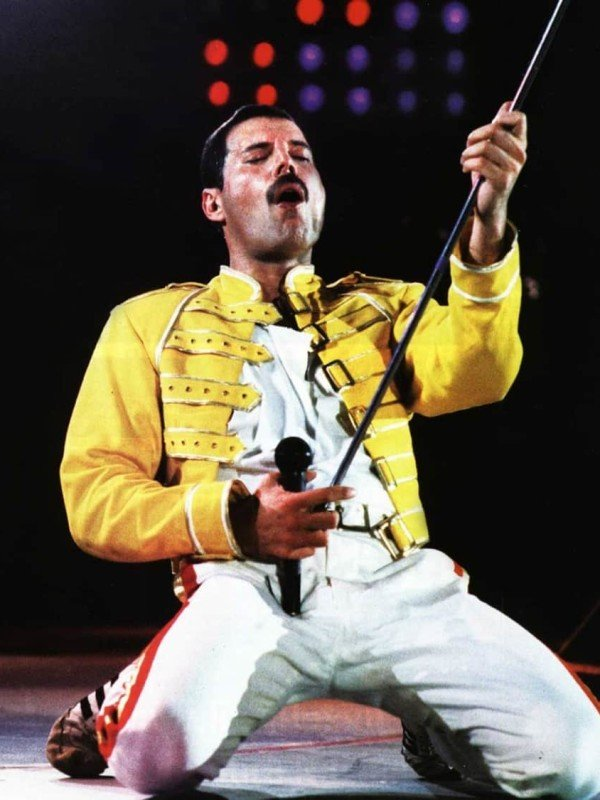 Freddie Mercury Yellow Jacket