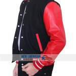 Letterman Black and Red Jacket