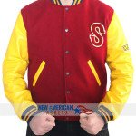 Letterman Crow Jacket