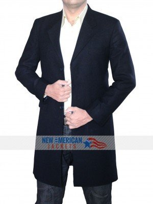 Navy Blue Spectre Coat