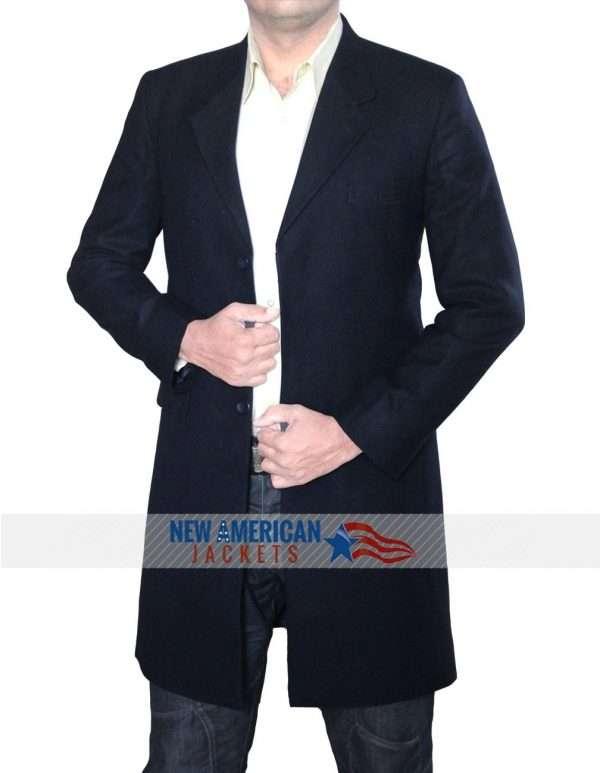 Navy Blue Spectre Coat