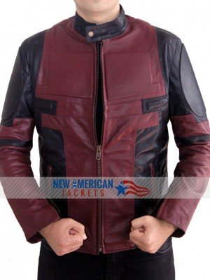 Deadpool Leather Jacket