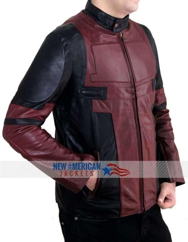 Wade Wilson Leather Jacket