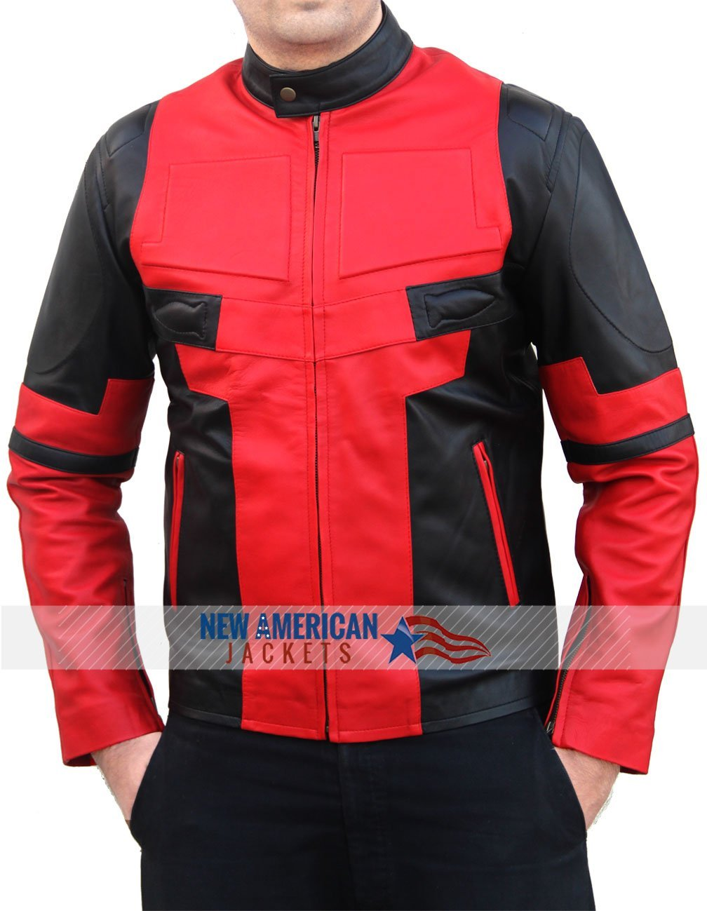 American outerwear leather jacket