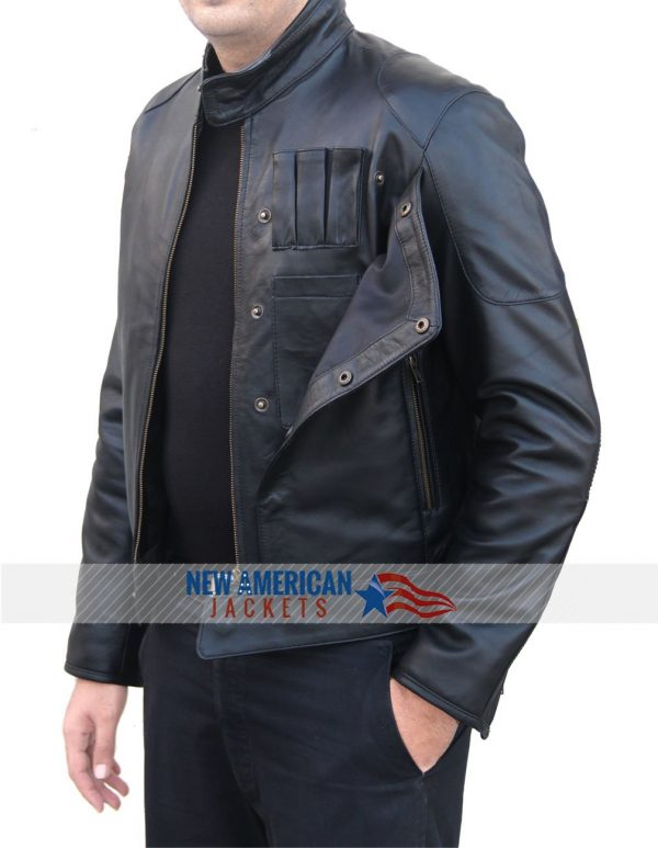 Fighter Leather Jacket