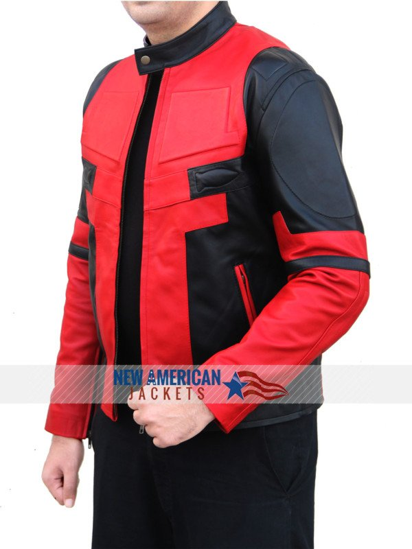 New Dead pool Leather Jacket
