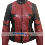 New Deadpool leather Jacket for women