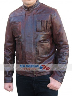 Star Wars Force Awakens Harrison Ford Jacket