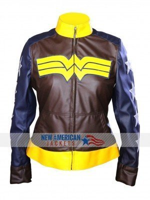 Batman v Superman Dawn of Justice Wonder Woman Jacket