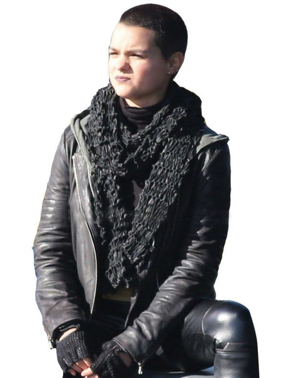 Brianna Hildebrand Leather Jacket