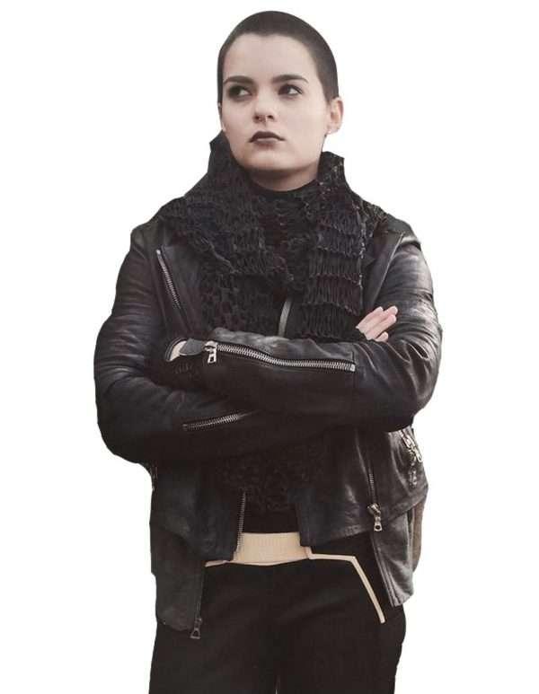 Brianna Hildebrand jacket