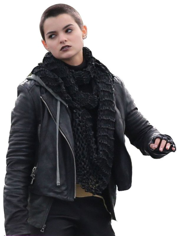 Deadpool Brianna Hildebrand jacket