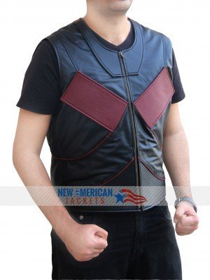 Deadpool Colossus Leather Vest