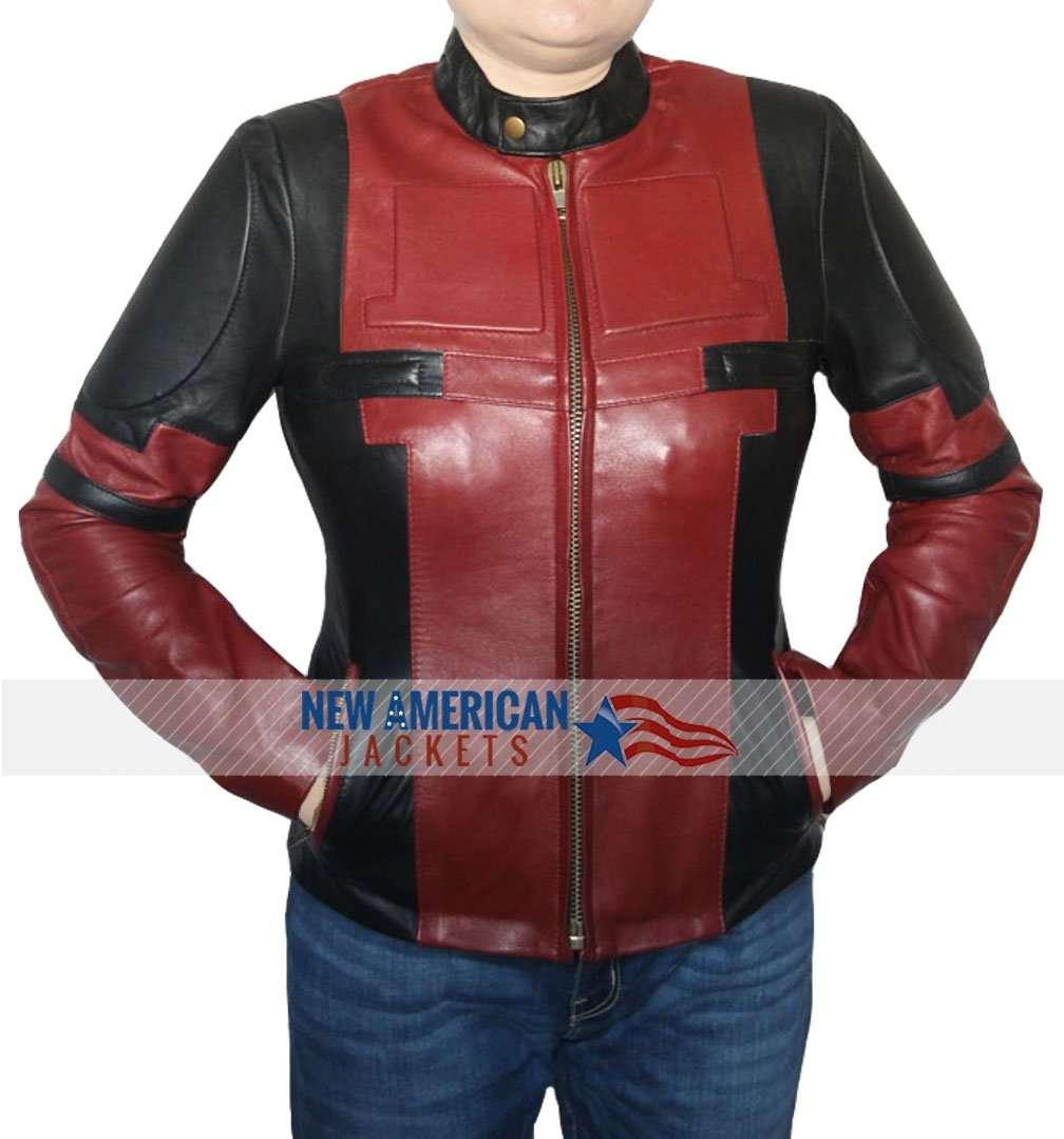 Leather jacket women - Deadpool Jacket For Women Deadpool Jacket Deadpool Leather
