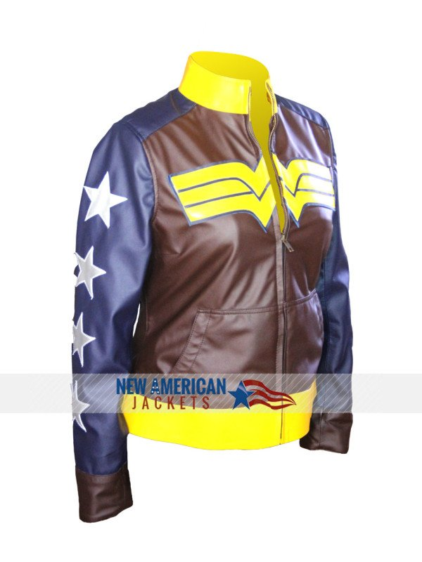 Justice Wonder Woman Jacket