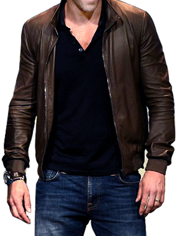 Ryan Reynolds Leather Jacket