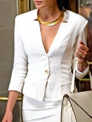 Batman V Superman Wonder Woman White Blazer