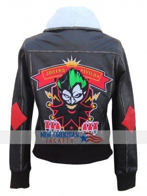Bombshell Harley Quinn Leather Jacket
