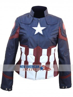 Captain America Civil War Jacket for Women