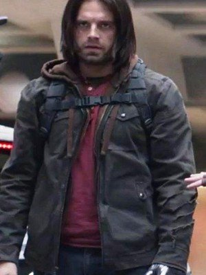 Captain america Civil War Bucky Barnes Jacket