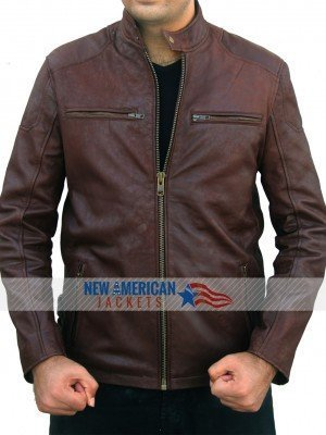 Captain america steve Rogers Brown Jacket