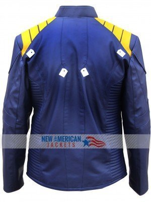 Chris Pine Star Costume Jacket