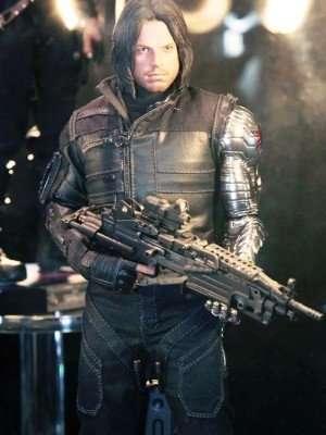 Civil War Captain america Bucky Barnes Jacket