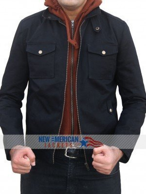 Civil War Captain america Bucky Barnes Jacket Cotton