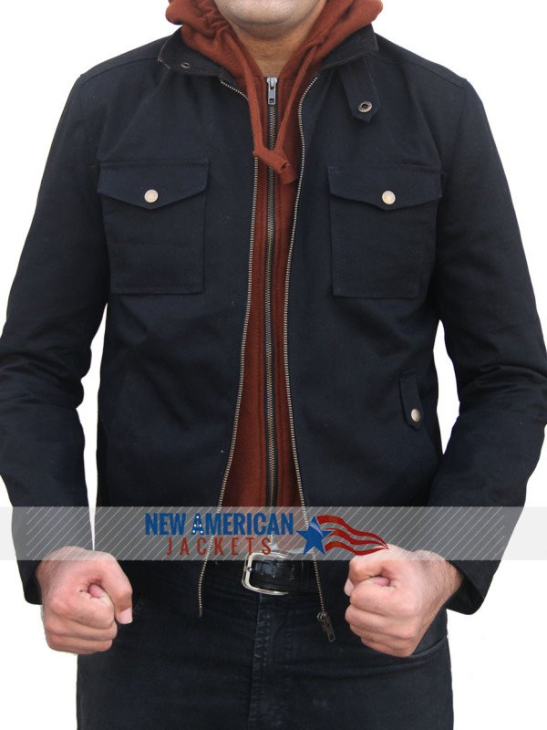 Civil War Captain america Bucky Barnes Jacket Cotton