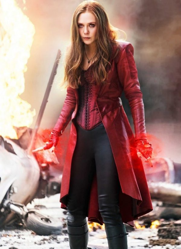 Civil War Scarlet Witch Red Coat