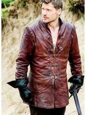 Game of Thrones Jaime Lannister Season 6 leather jacket