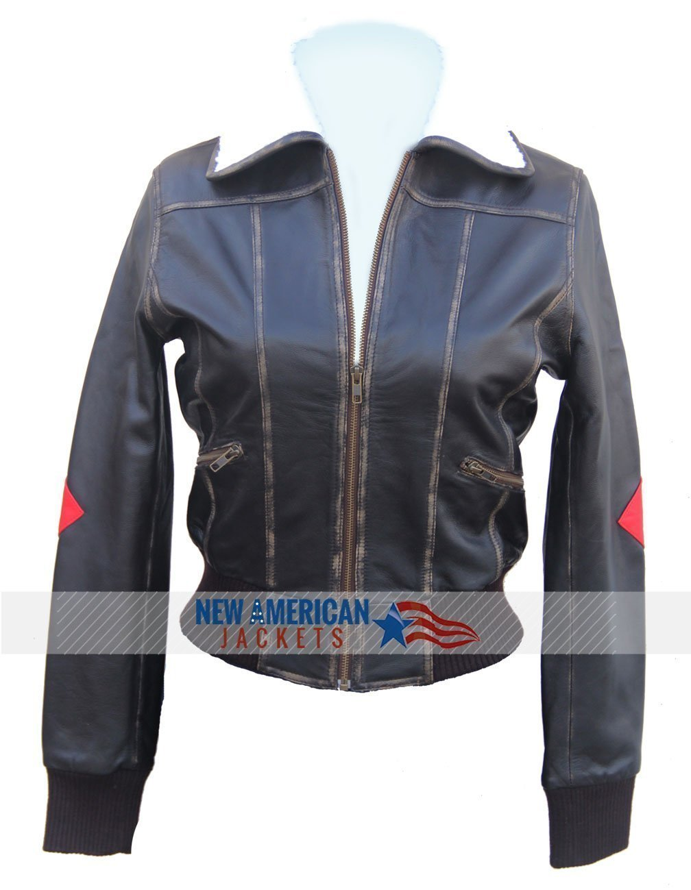 Leather jacket harley