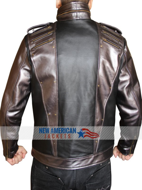 Apocalypse Quicksilver Leather Jacket
